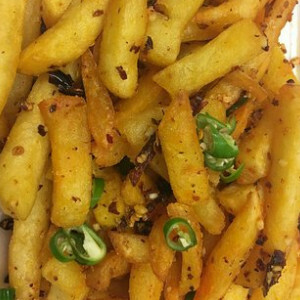 Salt & Chilli Pepper Chips (Spicy)