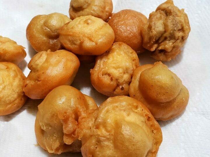 Crispy Coated Mushrooms