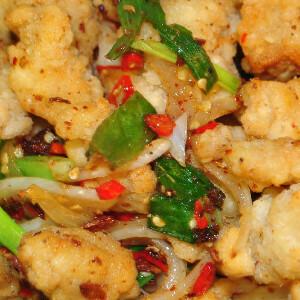 Salt & Chilli Pepper Chicken (Spicy)