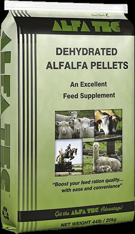 Alfa Tec Dehydrated Alfalfa Pellets