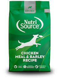 NutriSource Chicken & Barley