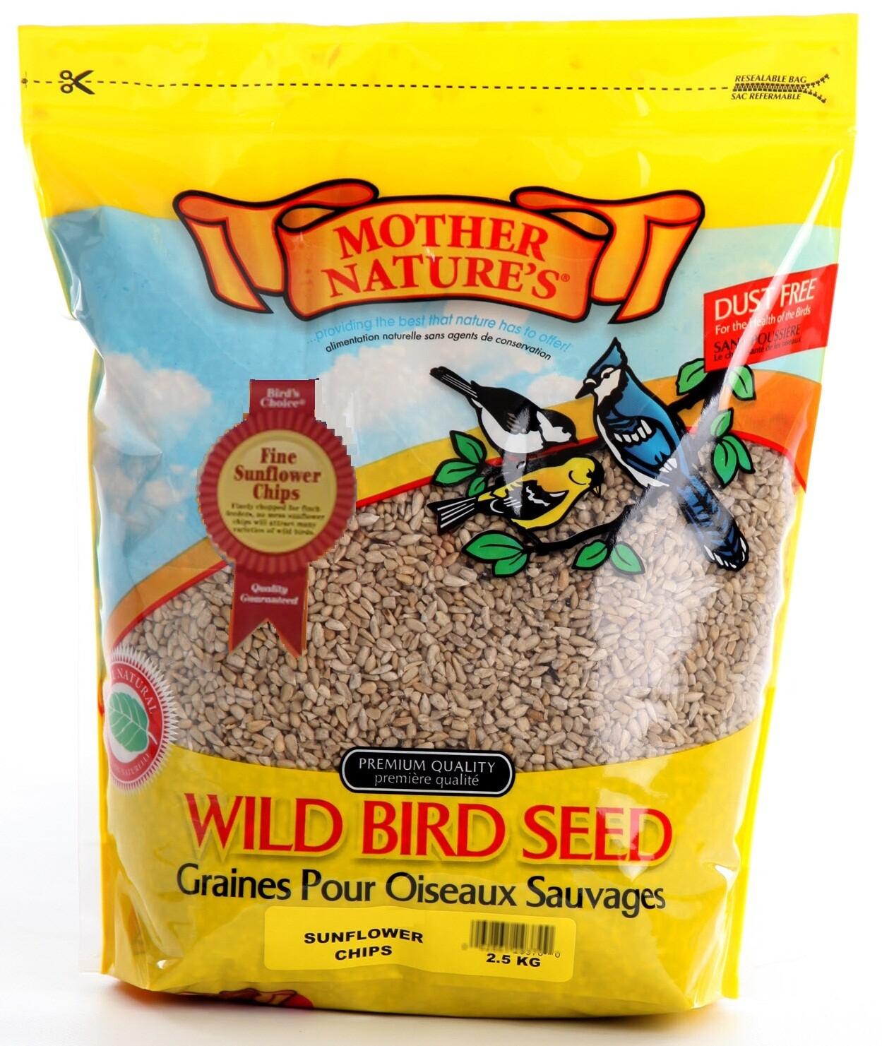 Fine Sunflower Chips-2.5kg