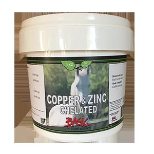 Copper & Zinc Chelated