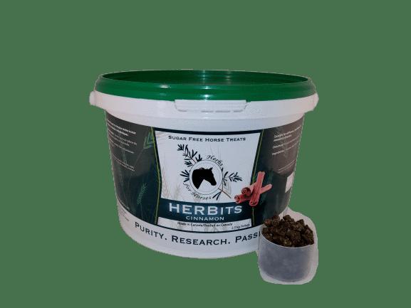 Herbits Horse Treats by Herbs for Horses - Cinnamon