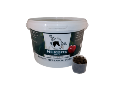 Herbits Horse Treats by Herbs for Horses - Apple