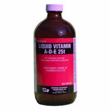 Liquid Vitamin A-D-E