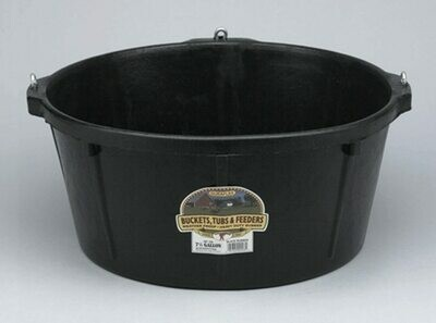 Miller Rubber Tub with rings 6.5gal HP750