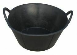 Miller Rubber Tub with Handles 6.5 gal