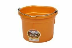 Miller Plastic Pail 8qt Flat Back - Assorted Colours