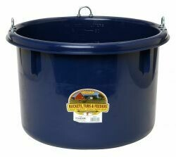 Miller Plastic Tub 8 Gallons with Rings - Assorted Colours