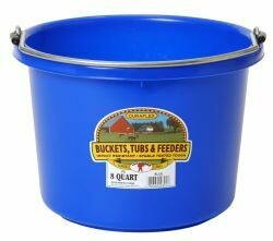 Miller Plastic Pail 8qt - Assorted Colours