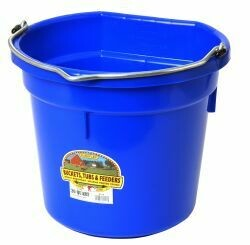 Miller Plastic Pail 20qt Flat Back - Assorted Colours