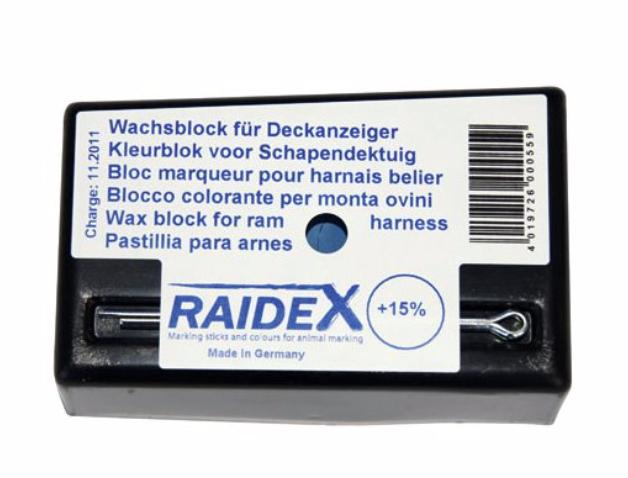 RAIDEX marking block - assorted colours