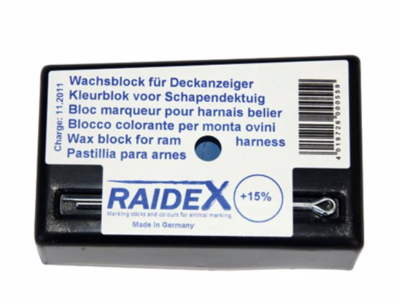 RAIDEX marking block - assorted colours
