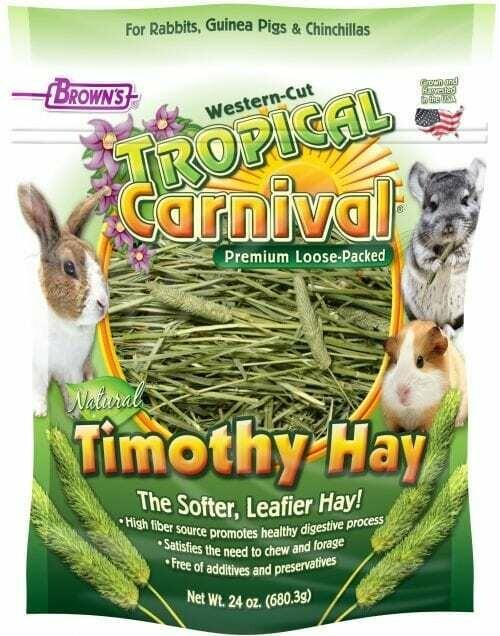Natural Timothy Hay 24oz