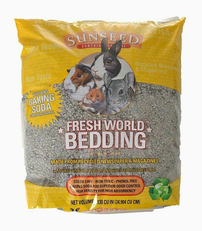 Fresh World Recycled Newspaper and Magazine Bedding
