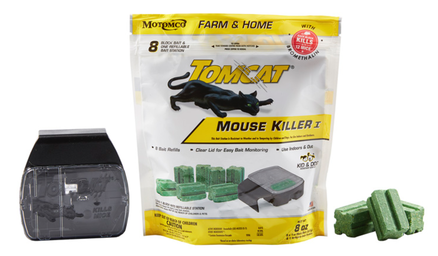 Tomcat Mouse Killer Refillable