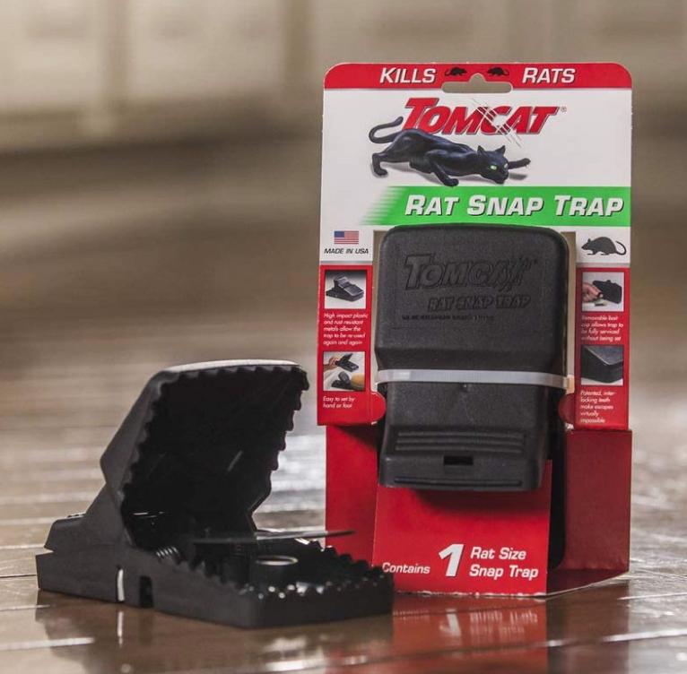 Tomcat Rat Snap Trap Single