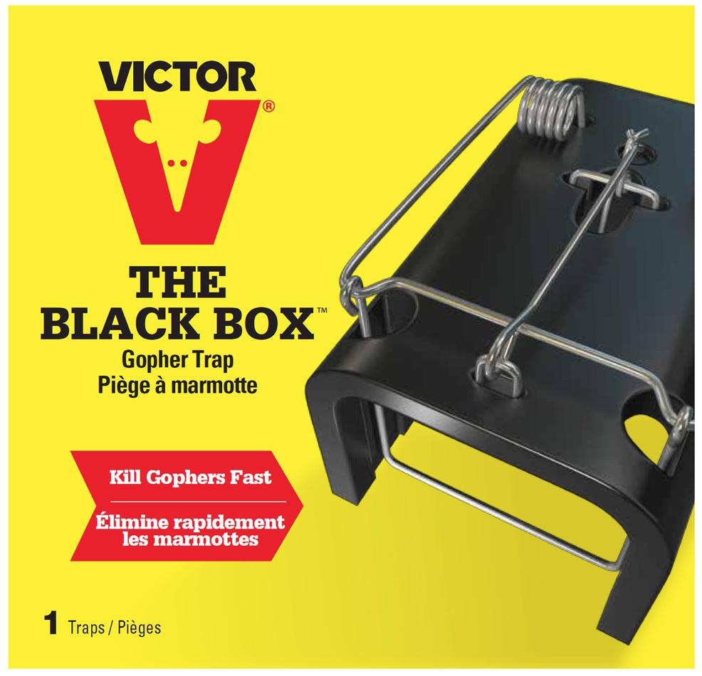 Victor black box gopher trap