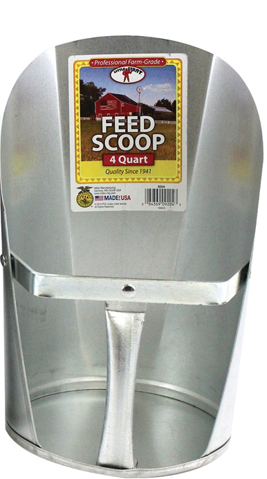 Little Giant Metal Feed Scoop 6 quart