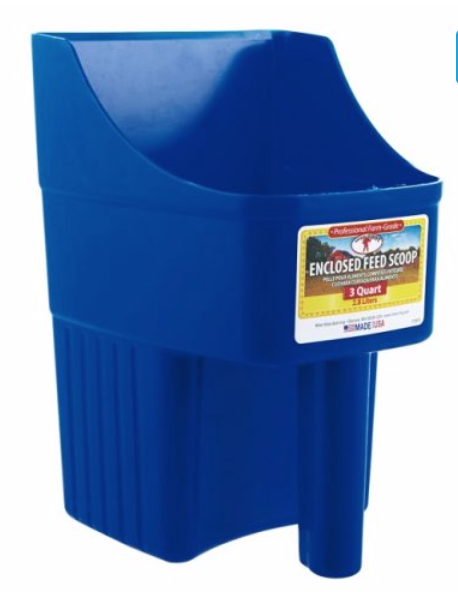 PLASTIC FEED SCOOP