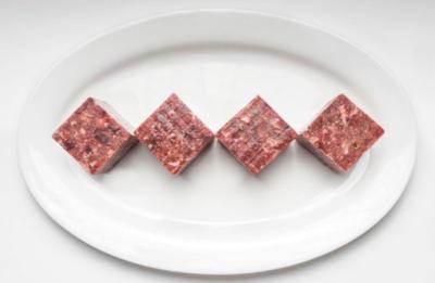 "Beef Trim Ground (2""x2"" Cubes) min 5lb order"