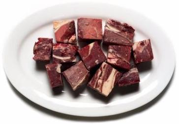 "Beef Trim Whole (2""x2"" Cubes) min 5lb order"