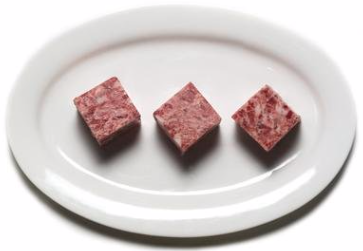 "Boar- Ground (2""x2"" Cubes) min 5lb order"