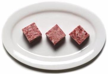 "Boar- Ground (2""x2"" Cubes) min 5lb order"