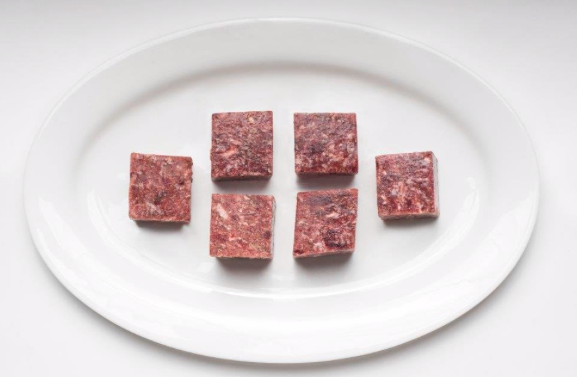 """Duck Meal-Ground (2""""x2"""" Cubes) min 5lb order"""