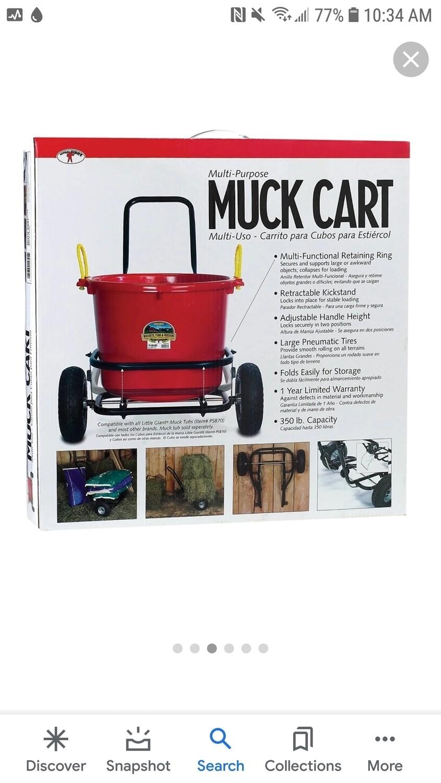 Little Giant Multi-purpose Muck Cart