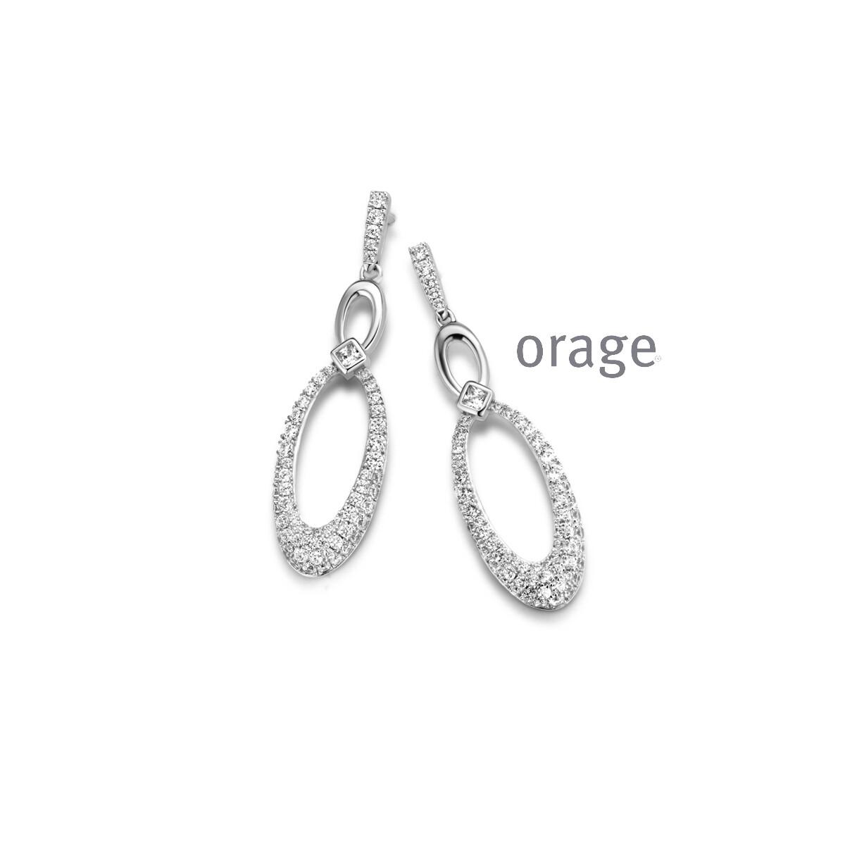 Boucles d'oreilles Orage AR166