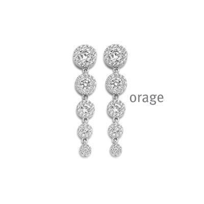 Boucles d'oreilles Orage AR131