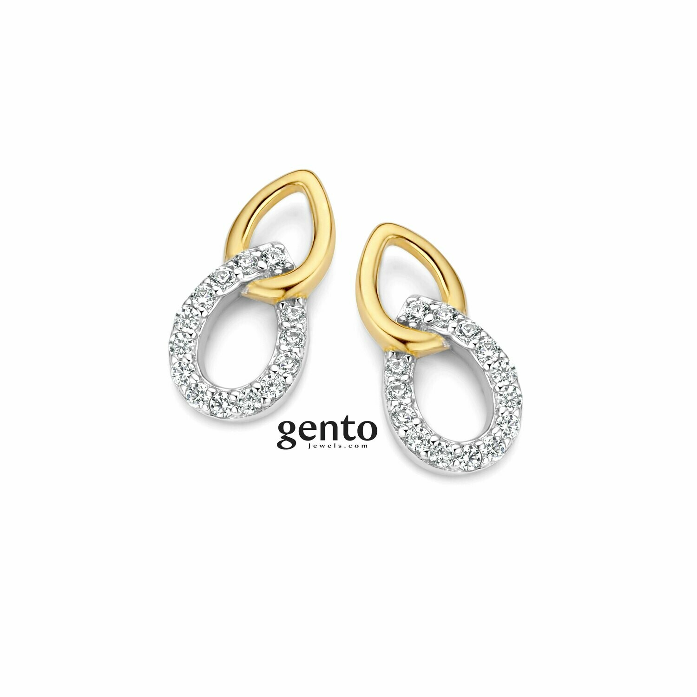 Boucles d'oreilles Gento KA28