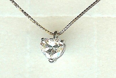 Collier or 18 carats bicolore