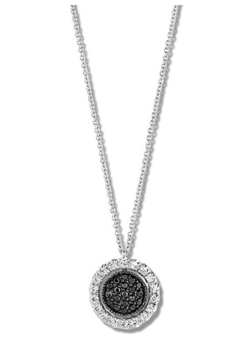 Collier or blanc 14 carats