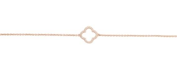 Bracelet or rose 14 carats