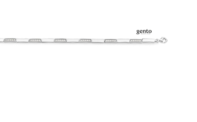 Bracelet argent Gento IB20