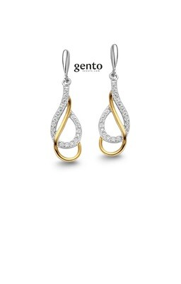 Boucles d'oreilles Gento IB80