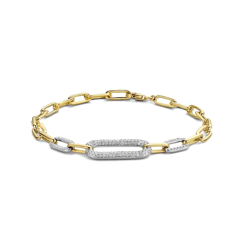 Bracelet or 18 carats et diamants Dulci Nea