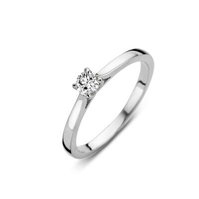 Bague or 18 carats + diamant