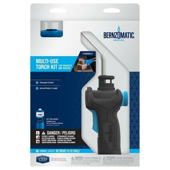 Bernzomatic TS3500KC Multi-use torch kit