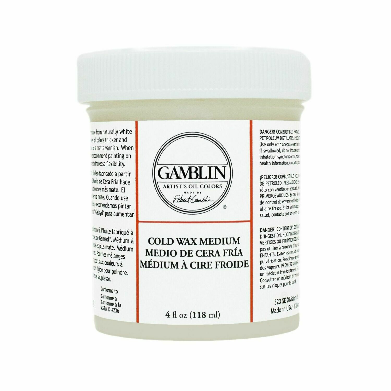 Gamblin Cold Wax 119 ml (4 oz)