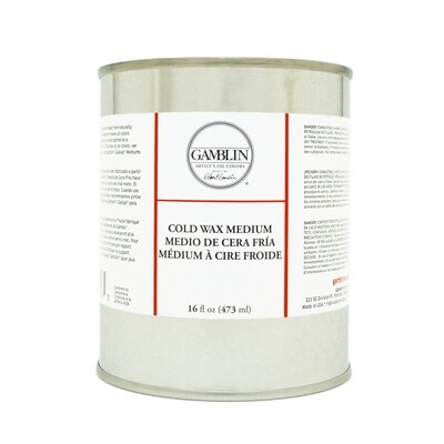 Gamblin Cold Wax (473 ml) (16 oz)