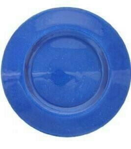 Cobalt Blue Glass Charger