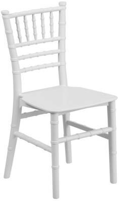 Children's Chiavari Chair Resin White