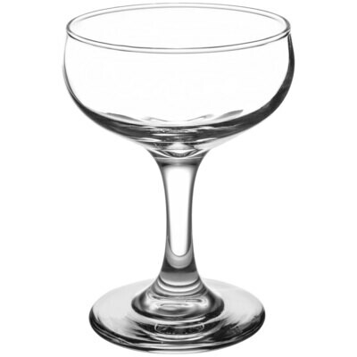 Champagne Coupe Glass 7.2 Oz. - Rack of 16 Glasses