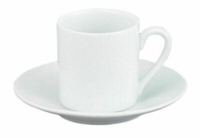 Porcelain Demi Cup 3 Oz. & Saucer