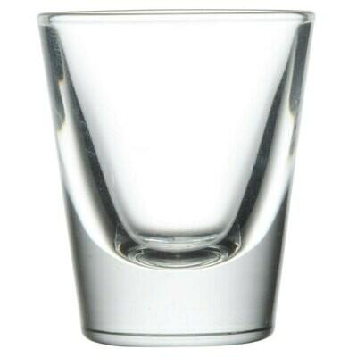 Shot Glass 1 Oz. - Rack of 36 Glasses