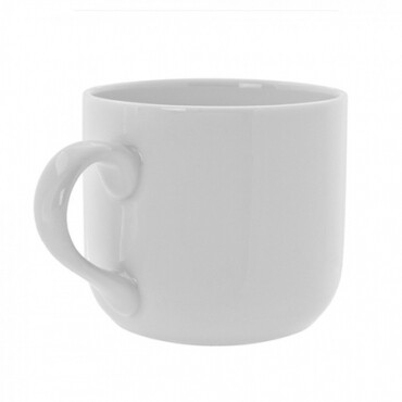 White Rim Mug 6 Oz. - Rack of 25